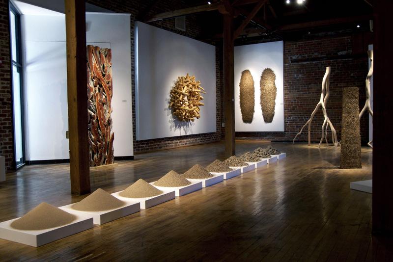 Art Exhibition at Prescott College Art Gallery, 2012